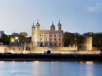 Der Tower of London, England