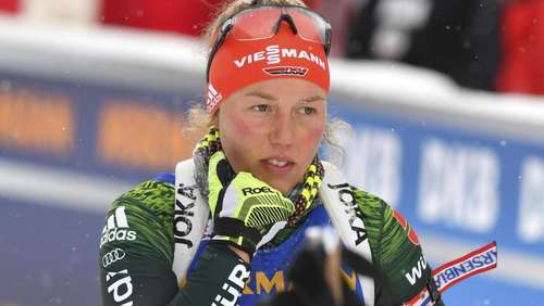 Dahlmeier sagt Start am Schalke-Biathlon ab