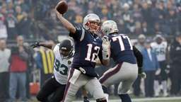 Philadelphia Eagles im Super Bowl gegen Patriots