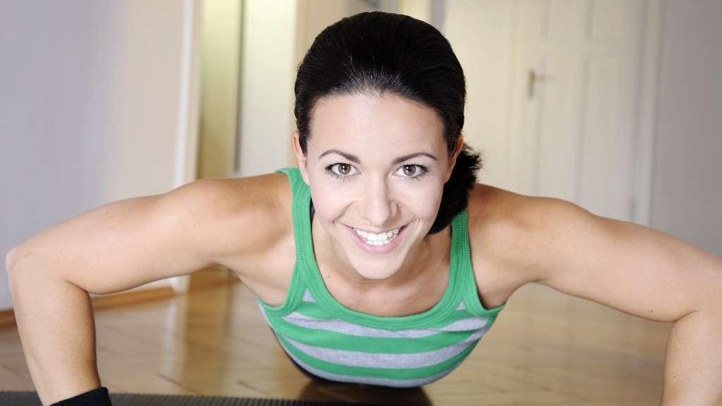 Fitness-Tipps: Muskelaufbau bei Frauen - keine Angst vor