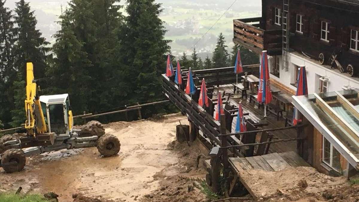 berchtesgaden hugo beck haus wegen murenabgang geschlossen berchtesgaden. Black Bedroom Furniture Sets. Home Design Ideas
