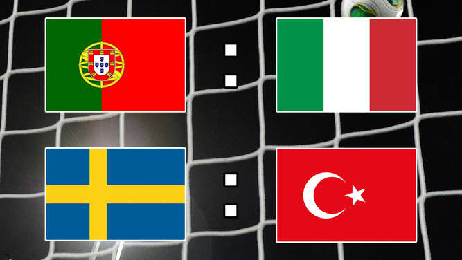 Nations League: Portugal besiegt schwache Italiener - Türkei holt Last-Minute-Sieg