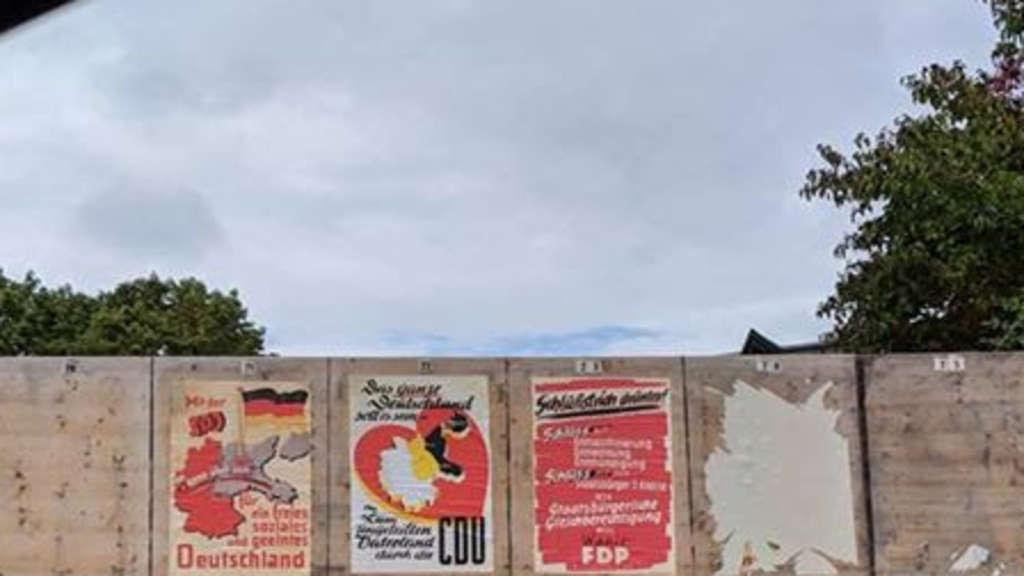Wahlplakate Zerstören