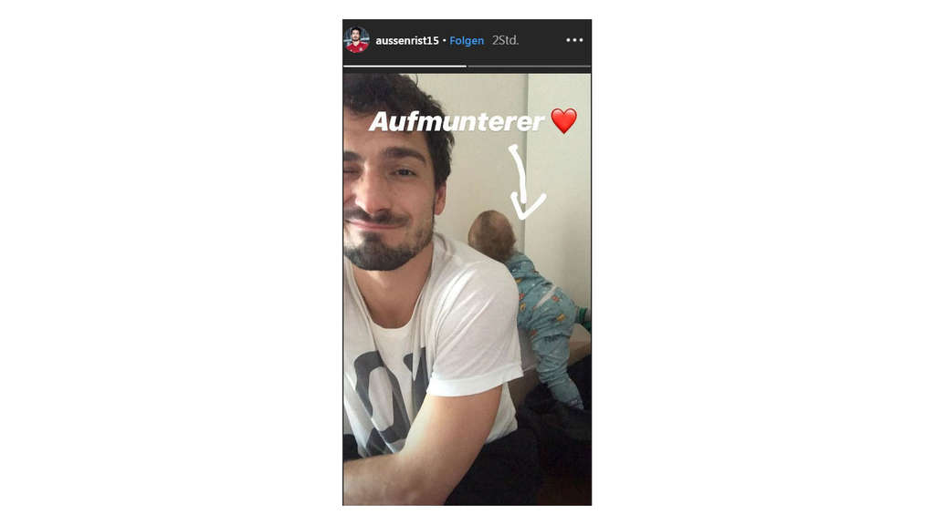 Hummels Instagram-Post