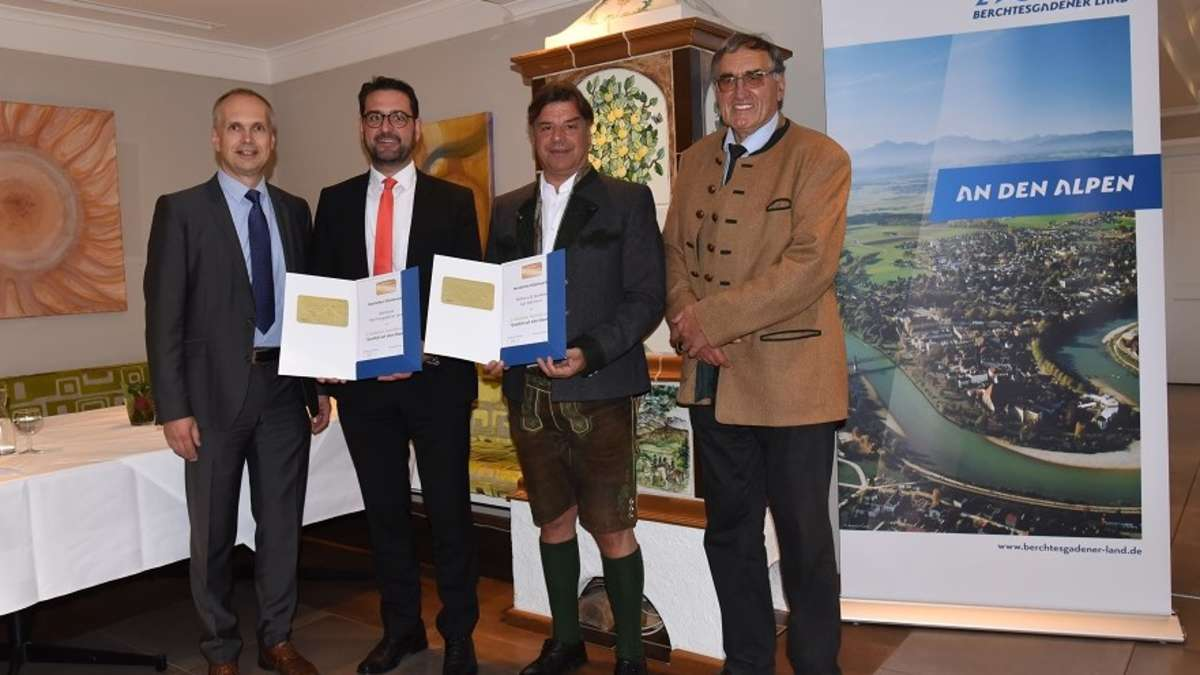 Berchtesgaden: Gut Edermann und Sparkasse Berchtesgadener Land erhalten Qualitätssiegel | Berchtesgaden - bgland24.de