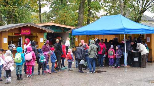 In den Herbstferien: Kinderstadt Freilassing