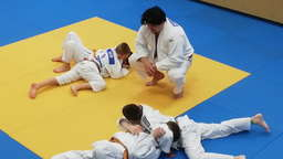 Profi-Judoka Daniel Messelberger in Bad Aibling