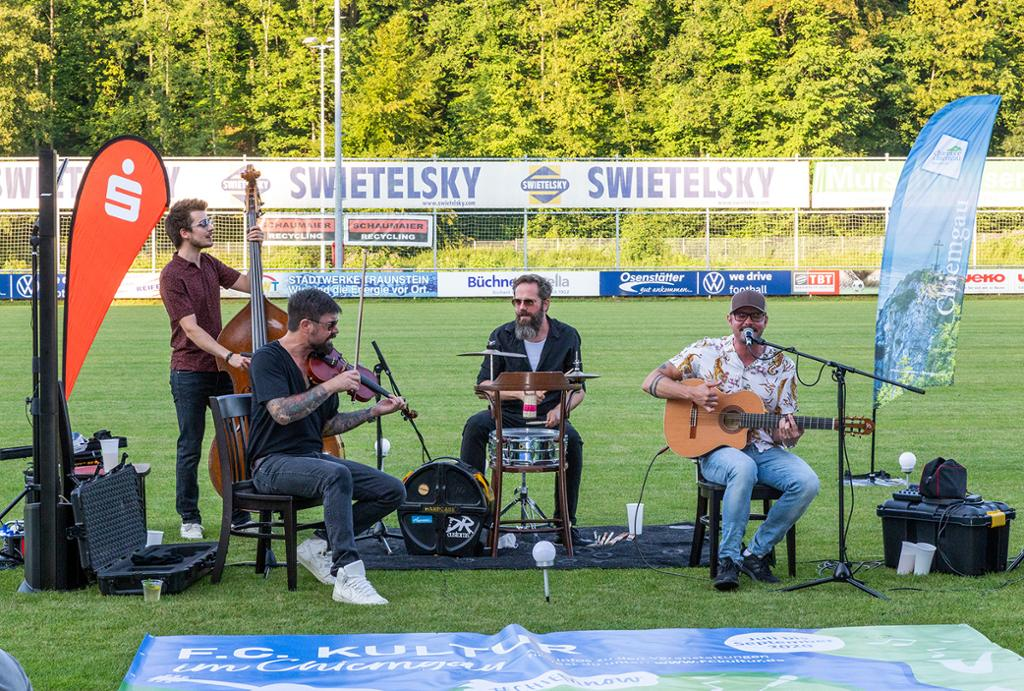 Unplugged-Konzert in Traunstein