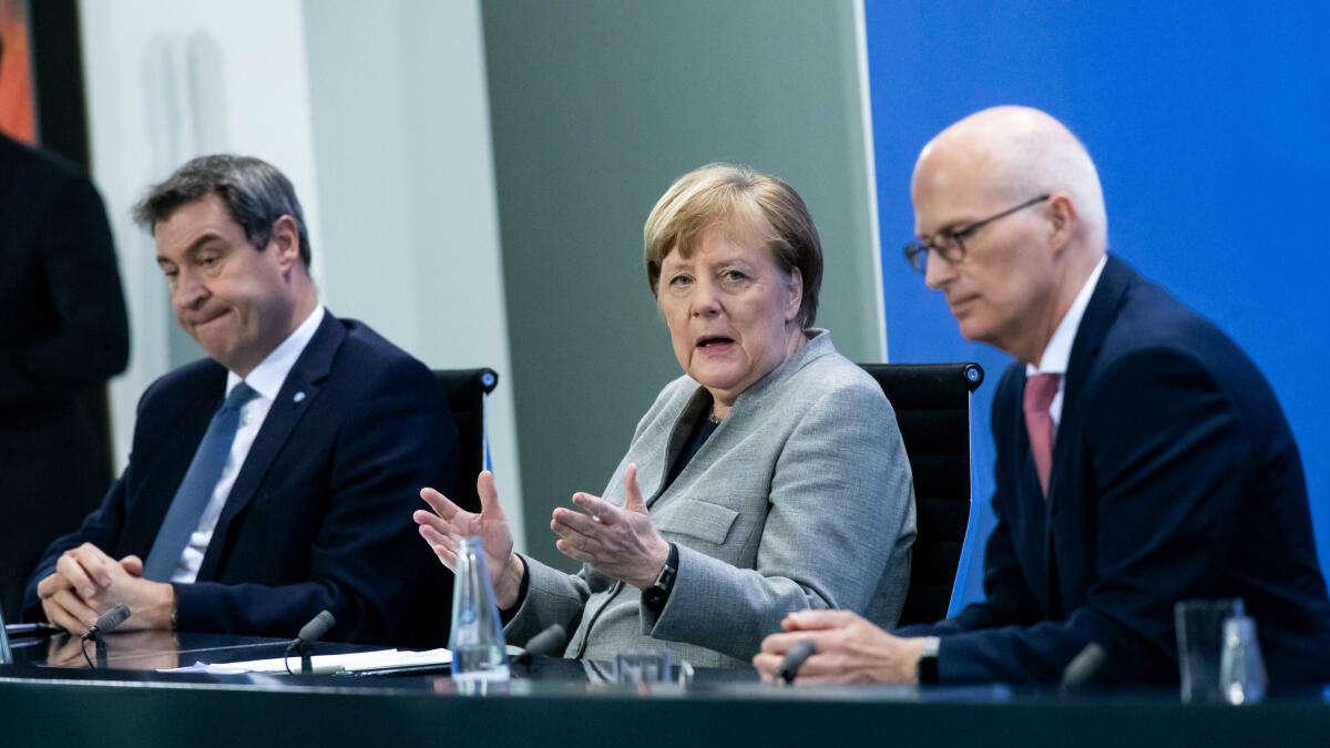 Corona Treffen Merkel