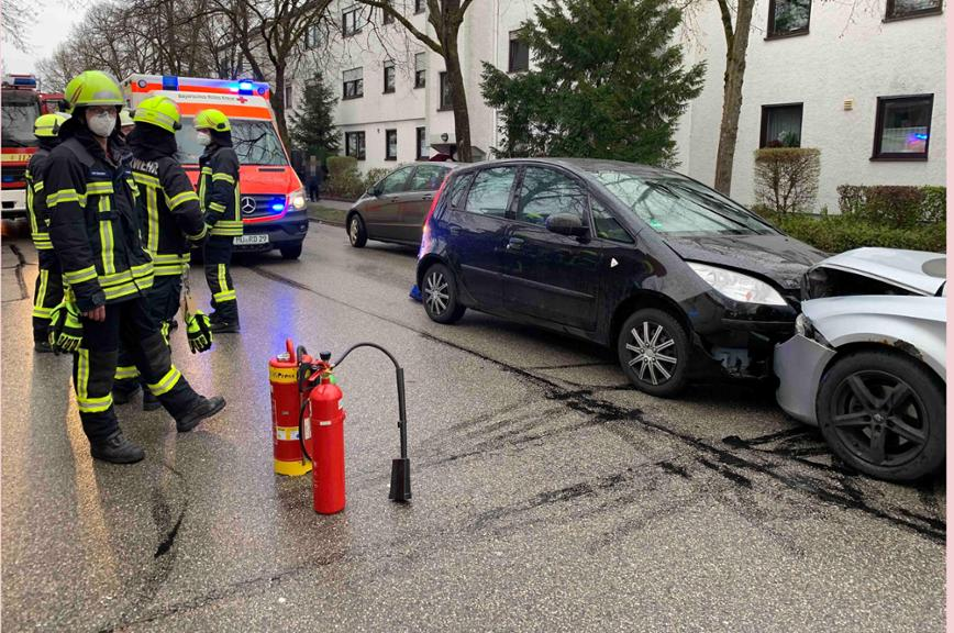 Unfall in Waldkraiburg am 12. April